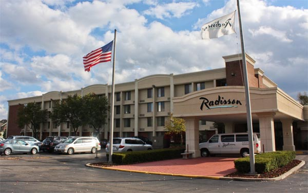 Radisson Rochester Airport Hotel on Jefferson Rd near RIT