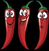 3 Hot Peppers